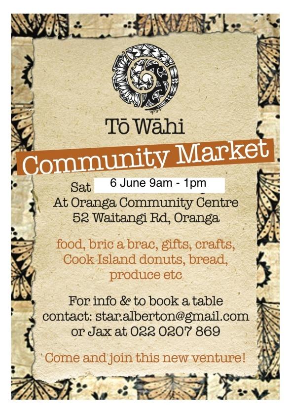 To Wahi market june 2015